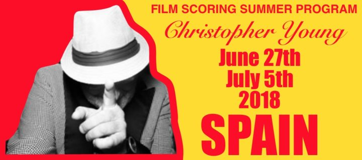 The 2018 GEMS Christopher Young Film Scoring Program, Spain.